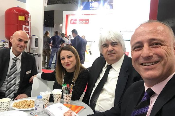 Mostra Convegno Expoconfort (Italia - 2018) Fuarına katıldık